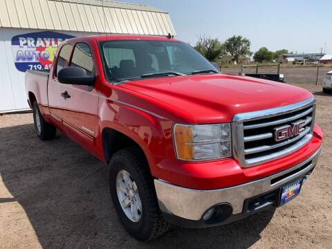 2012 GMC Sierra 1500 for sale at Praylea's Auto Sales in Peyton CO