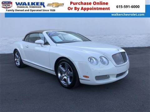 2007 Bentley Continental for sale at WALKER CHEVROLET in Franklin TN