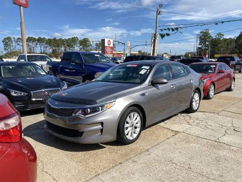 2016 Kia Optima for sale at Direct Auto in D'Iberville MS