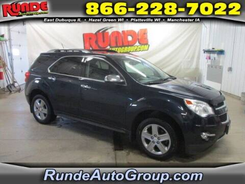 2015 Chevrolet Equinox for sale at Runde Chevrolet in East Dubuque IL