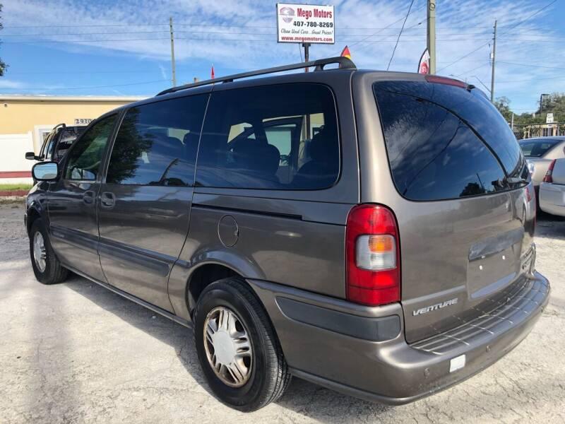 2005 Chevrolet Venture for sale at Mego Motors in Orlando FL