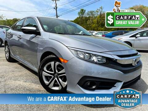 2017 Honda Civic for sale at High Rated Auto Company in Abingdon MD