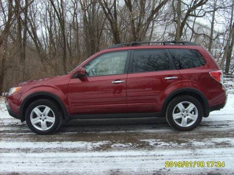 2010 Subaru Forester for sale at Northport Motors LLC in New London WI