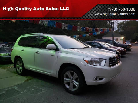 2010 Toyota Highlander for sale at High Quality Auto Sales LLC in Bloomingdale NJ