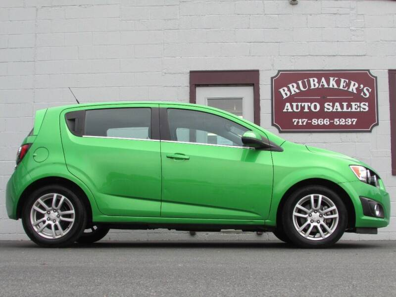 2014 Chevrolet Sonic for sale at Brubakers Auto Sales in Myerstown PA