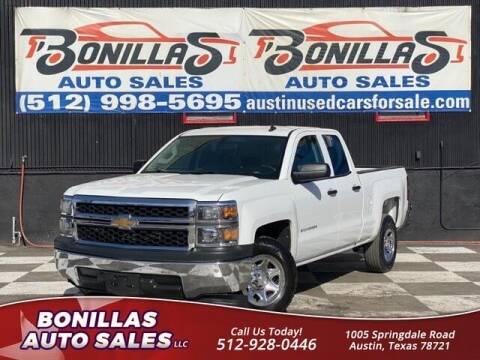 2014 Chevrolet Silverado 1500 for sale at Bonillas Auto Sales in Austin TX
