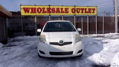 2010 Toyota Yaris for sale at LONG BROTHERS CAR COMPANY in Cleveland OH