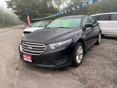 2015 Ford Taurus for sale at Brilliant Motors in Topsham ME
