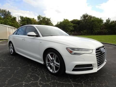 2016 Audi A6 for sale at SUPER DEAL MOTORS 441 in Hollywood FL