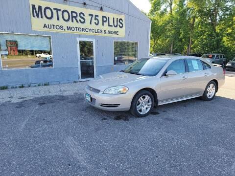 2012 Chevrolet Impala for sale at Motors 75 Plus in Saint Cloud MN