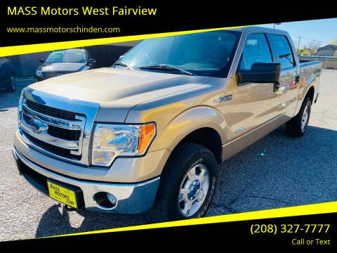 2013 Ford F-150 for sale at M.A.S.S. Motors - West Fairview in Boise ID