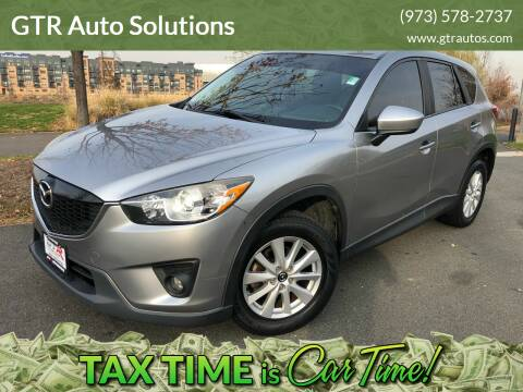 2013 Mazda CX-5 for sale at GTR Auto Solutions in Newark NJ