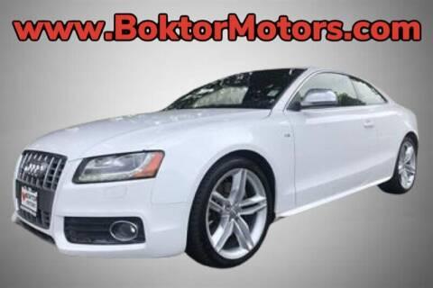 2009 Audi S5 for sale at Boktor Motors in North Hollywood CA
