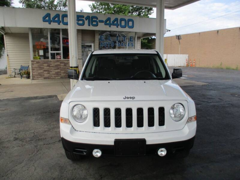 2011 Jeep Patriot for sale at Elite Auto Sales in Willowick OH