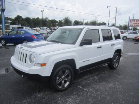 2017 Jeep Patriot for sale at Blue Book Cars in Sanford FL