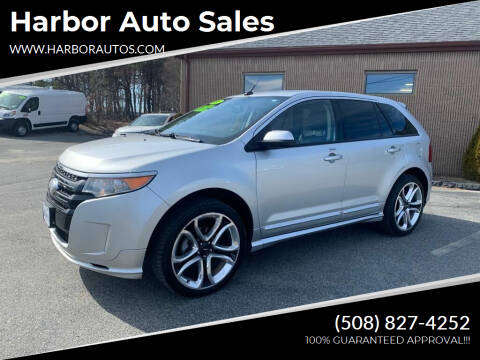 2013 Ford Edge for sale at Harbor Auto Sales in Hyannis MA