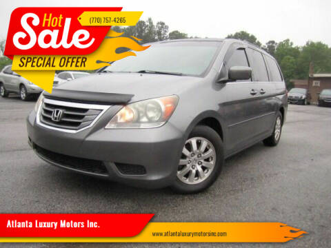 2009 Honda Odyssey for sale at Atlanta Luxury Motors Inc. in Buford GA