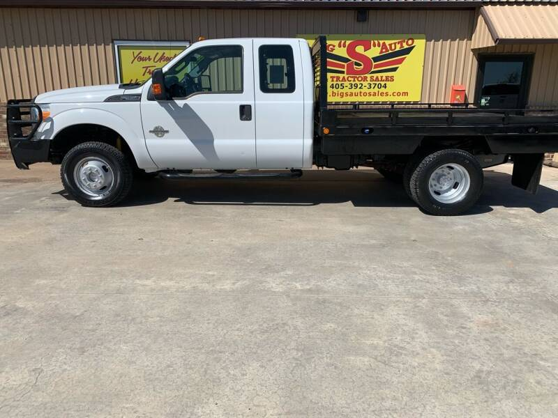 2013 Ford F-350 Super Duty for sale at BIG 'S' AUTO & TRACTOR SALES in Blanchard OK