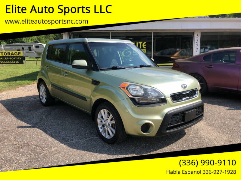 2012 Kia Soul for sale at Elite Auto Sports LLC in Wilkesboro NC