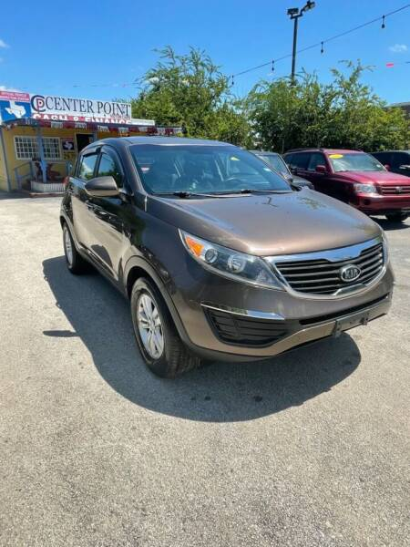 2011 Kia Sportage for sale at Centerpoint Motor Cars in San Antonio TX