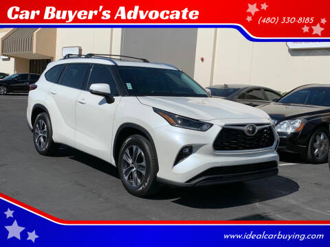 2021 Toyota Highlander for sale at Car Buyer's Advocate in Phoenix AZ