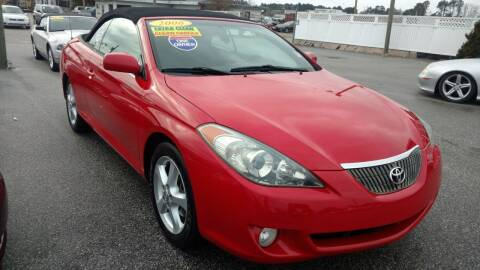 2006 Toyota Camry Solara for sale at Kelly & Kelly Supermarket of Cars in Fayetteville NC