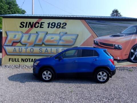 2016 Chevrolet Trax for sale at Pyles Auto Sales in Kittanning PA