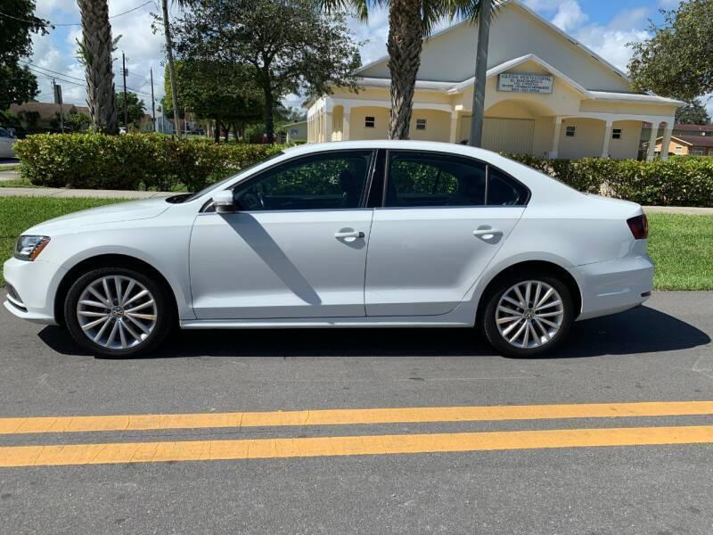 2016 Volkswagen Jetta 1.8T SEL Premium 4dr Sedan - Davie FL