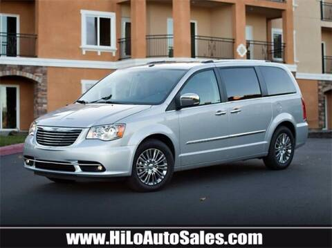 2011 Chrysler Town and Country for sale at Hi-Lo Auto Sales in Frederick MD