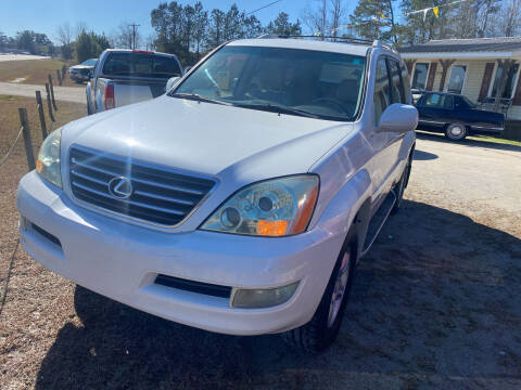 2007 Lexus GX 470 for sale at Southtown Auto Sales in Whiteville NC