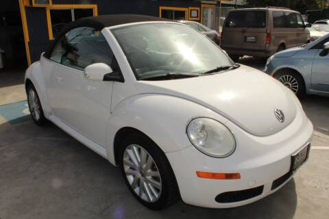 2010 Volkswagen New Beetle Convertible for sale at Good Vibes Auto Sales in North Hollywood CA