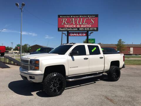 2014 Chevrolet Silverado 1500 for sale at RAUL'S TRUCK & AUTO SALES, INC in Oklahoma City OK