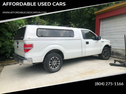 2010 Ford F-150 for sale at AFFORDABLE USED CARS in Richmond VA