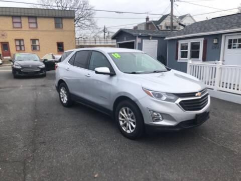 2018 Chevrolet Equinox for sale at Sharon Hill Auto Sales LLC in Sharon Hill PA