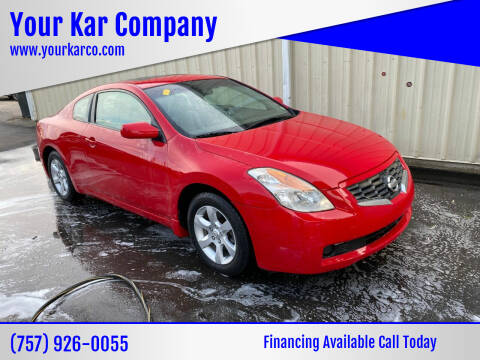 2008 Nissan Altima for sale at Your Kar Company in Norfolk VA