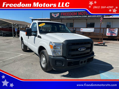 2016 Ford F-250 Super Duty for sale at Freedom Motors LLC in Knoxville TN