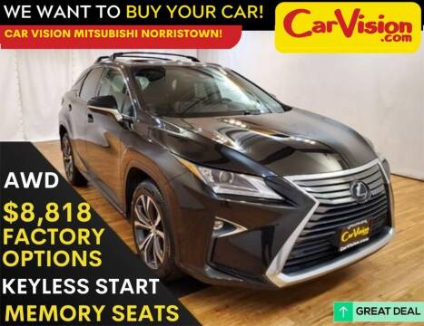 2017 Lexus RX 350 for sale at Car Vision Mitsubishi Norristown in Norristown PA