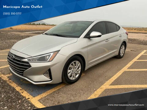 2020 Hyundai Elantra for sale at Maricopa Auto Outlet in Maricopa AZ