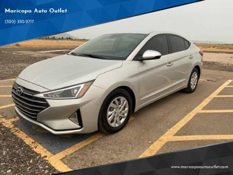 2020 Hyundai Elantra for sale at Maricopa Auto Outlet in Maricopa AZ