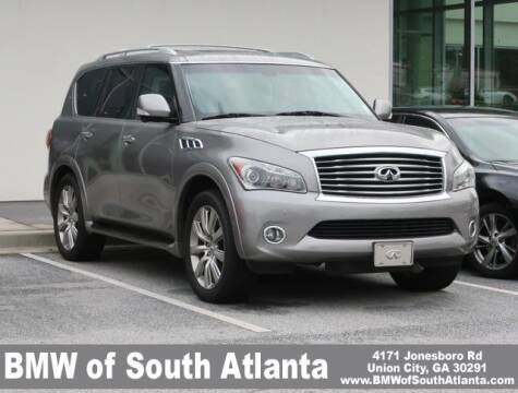 2013 Infiniti QX56 for sale at Carol Benner @ BMW of South Atlanta in Union City GA