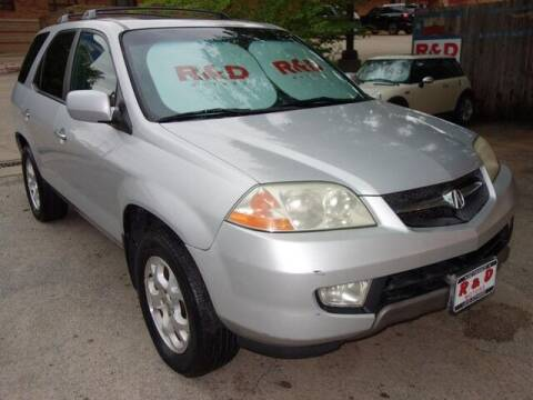 2002 Acura MDX for sale at R & D Motors in Austin TX