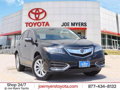 2018 Acura RDX for sale at Joe Myers Toyota PreOwned in Houston TX