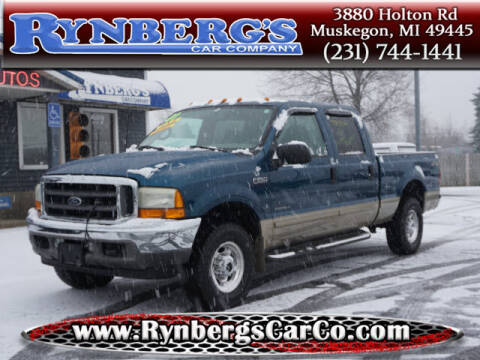 2001 Ford F-250 Super Duty for sale at Rynbergs Car Co in Muskegon MI