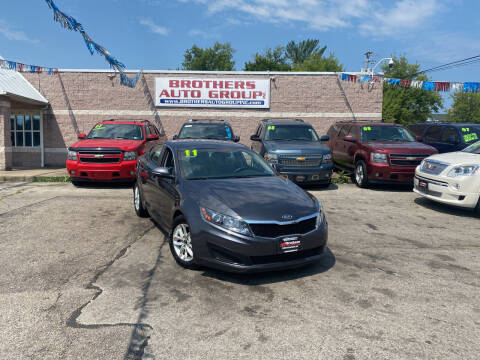 2011 Kia Optima for sale at Brothers Auto Group in Youngstown OH