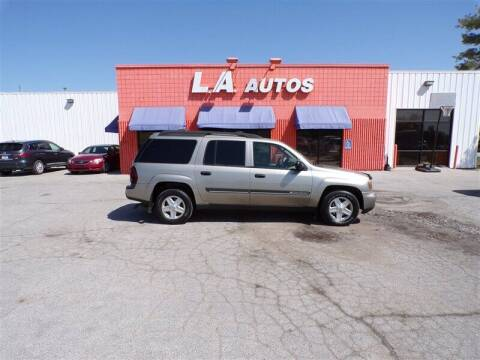 2002 Chevrolet TrailBlazer for sale at L A AUTOS in Omaha NE