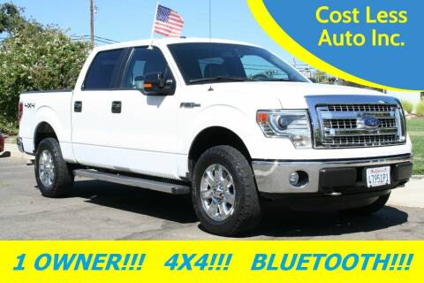 2014 Ford F-150 for sale at Cost Less Auto Inc. in Rocklin CA