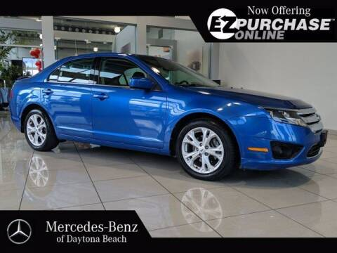 2012 Ford Fusion for sale at Mercedes-Benz of Daytona Beach in Daytona Beach FL