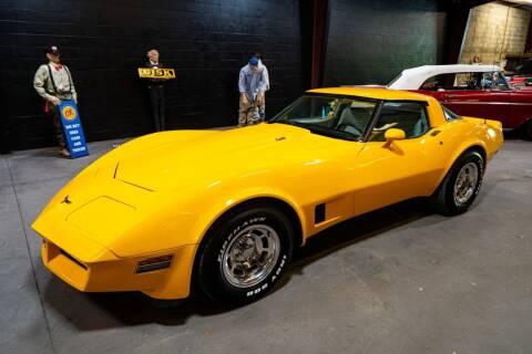 1980 Chevrolet Corvette for sale at American Classic Car Sales in Sarasota FL