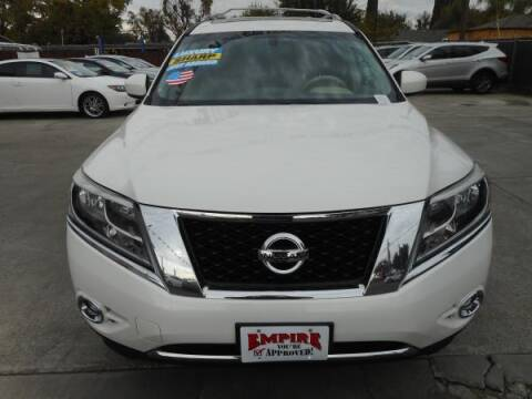 2014 Nissan Pathfinder for sale at Empire Auto Sales in Modesto CA