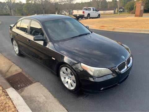 2007 BMW 5 Series for sale at Two Brothers Auto Sales in Loganville GA